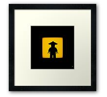 Shadow - Sensei Framed Print