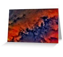 Star Cloud Greeting Card