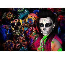 Day of the Dead Kardashian's Photographic Print