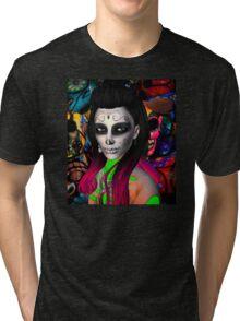 Day of the Dead Kardashian's Tri-blend T-Shirt
