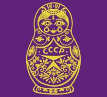 Matryoshka CCCP by BT-PopTee