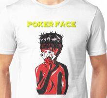 Poker Face (Yellow) Unisex T-Shirt