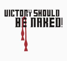Dr. Who- Victory Should Be Naked! One Piece - Short Sleeve