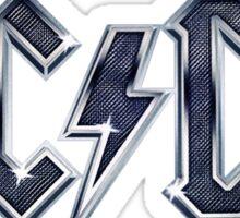 AC DC logo Sticker