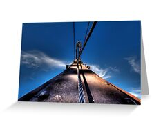 Pulling Sky Greeting Card