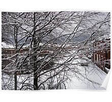 A Snowy Morning in January Poster