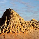 Sunrise on the Pinnacles at Lake Mungo by Carole-Anne