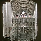 Altar in St Albans cathedral 195709060011 by Fred Mitchell