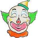 Clown Pencil Rendering by jsalozzo