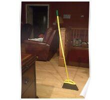 Standing Broom ~ Not Photoshop Poster