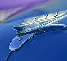 1951 Plymouth Hood Ornament by Jill Reger