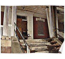 Abandonned Overbook Hospital / Essex County Mental Hospital, Cedar Grove NJ Poster