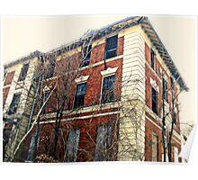 Another Abandonned Hospital Ward, Overlook Hospital, Cedar Grove NJ Poster