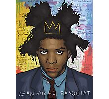 Jean Michel Basquiat Photographic Print