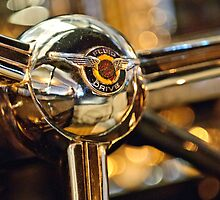 1947 Chrysler New Yorker Town and Country Convertible Steering Wheel by Jill Reger