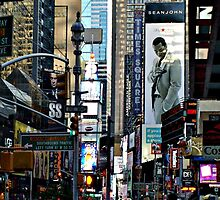 The Hustle and Bustle and Beauty of Times Square, NYC by Jane Neill-Hancock