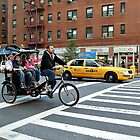 A Unique Way to Travel In the City - Rickshaw Bike In NYC by Jane Neill-Hancock