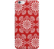 Red/White Circles iPhone Case/Skin