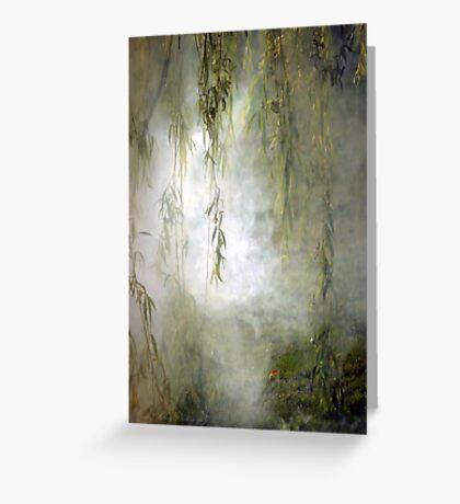 Weepin Willows Greeting Card