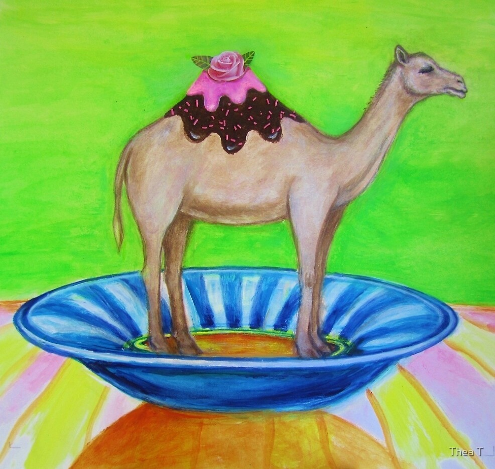 Dromedary Delight by Thea T