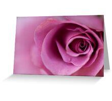 Eye Of The Rose Greeting Card