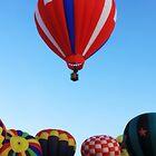Winthrop balloon Festival by Debbie Roelle