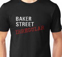 Baker Street Irregular (white) Unisex T-Shirt