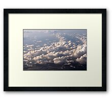 Sky, Cloud, Sea, Land Framed Print