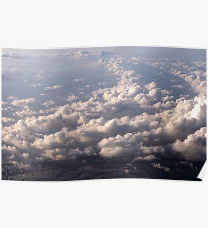 Sky, Cloud, Sea, Land Poster