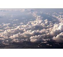 Sky, Cloud, Sea, Land Photographic Print