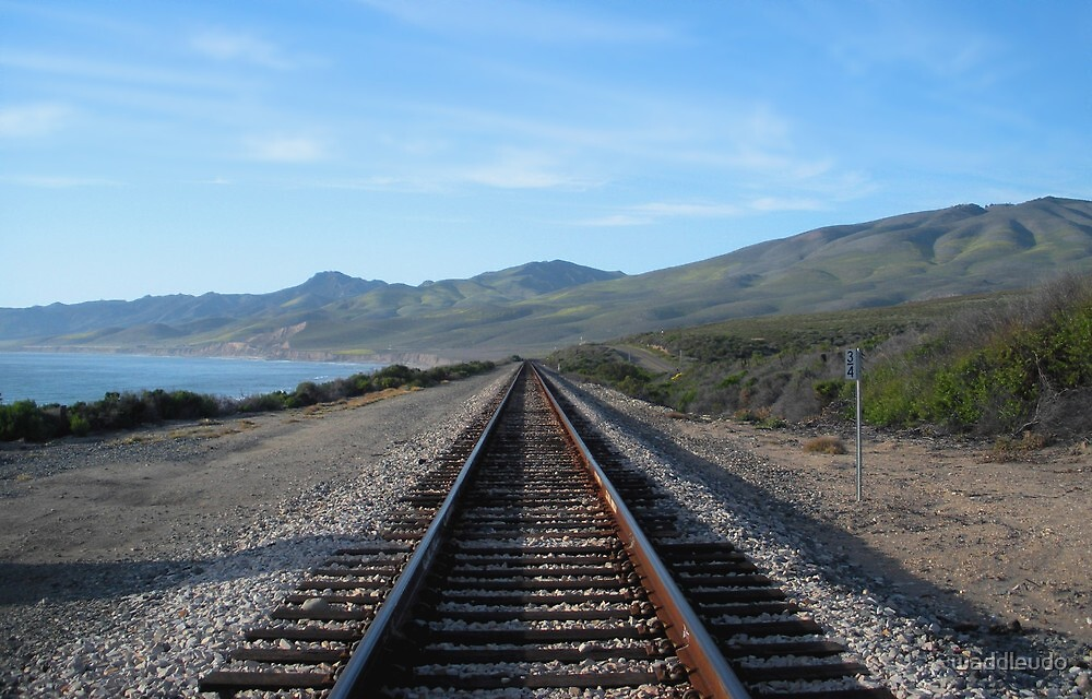 """""""Union Pacific Tracks - North"""" by waddleudo"""