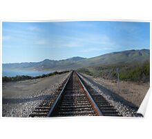 """Union Pacific Tracks - North"" Poster"