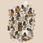 Monkey Magic (brown) by spadaman