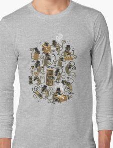 Monkey Magic (brown) Long Sleeve T-Shirt