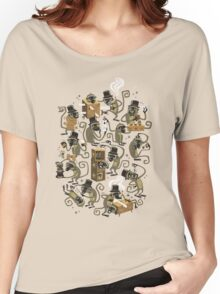 Monkey Magic (brown) Women's Relaxed Fit T-Shirt