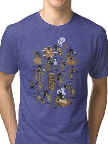 Monkey Magic (brown) Tri-blend T-Shirt