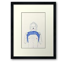 a chest Framed Print
