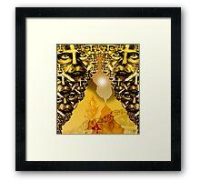 Bone Desert Framed Print