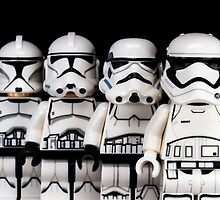 Evolution of a stormtrooper by Ballou34