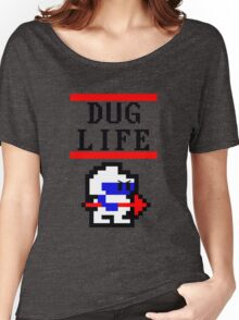 Dig Dug life Women's Relaxed Fit T-Shirt