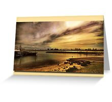 Forster Evening Greeting Card
