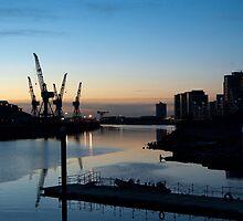 Govan Cranes by Glaspark