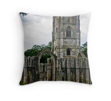 Fountains Abbey Throw Pillow