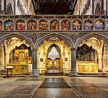The Rood Screen at Exeter Cathedral by hebrideslight