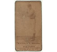 Benjamin K Edwards Collection Jimmy McAleer Cleveland Spiders baseball card portrait Photographic Print