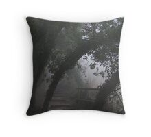 Mysterious Path Throw Pillow