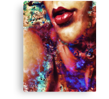 The Price of a Kiss Canvas Print