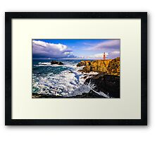 The Butt of Lewis Framed Print