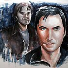 Richard Armitage, featured in Art Universe by Françoise  Dugourd-Caput