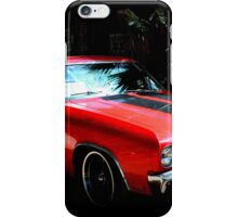 Red and Hot iPhone Case/Skin